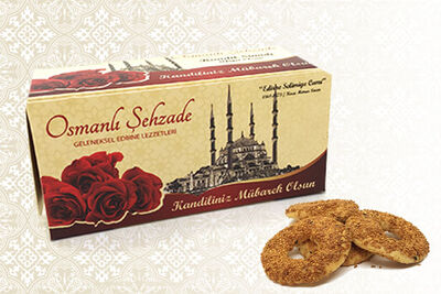 Osmanlı Şehzade - Kandil Simidi 10'lu